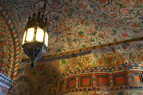 Detalhes do interior da Catedral de São Basílio*