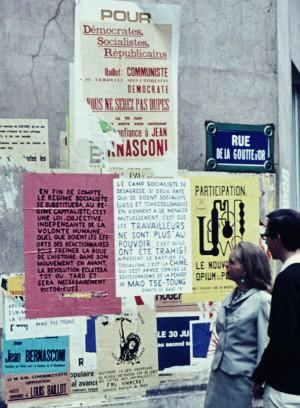 Cartazes em maio de 1968