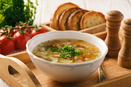 Sopas podem ser uma alternativa saudável para o frio