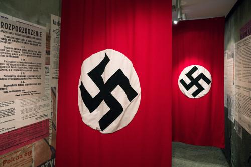 A suástica era símbolo do partido nazista
