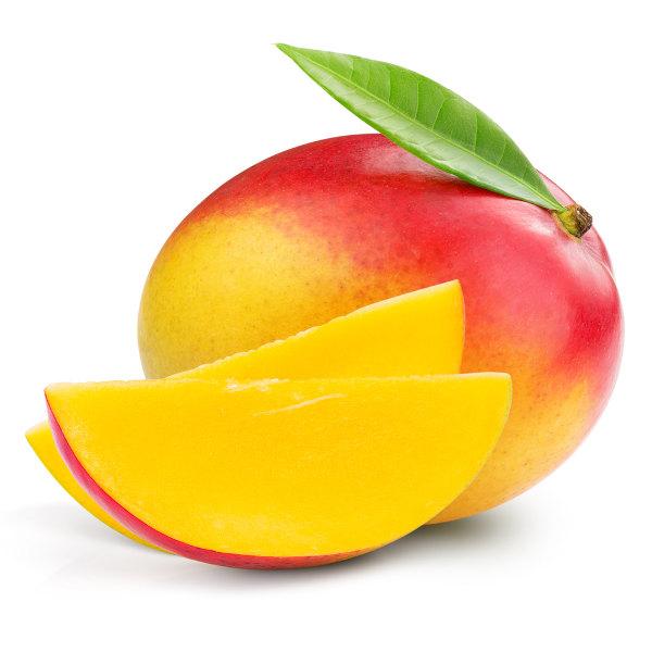 A manga é rica em carotenoides e vitamina C.