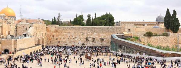 O Muro das Lamentações é o segundo local mais sagrado para os judeus.