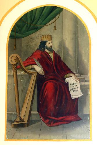O Rei Davi liderou os exércitos dos hebreus, que conquistaram Jerusalém dos jebuseus.