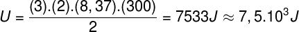 Cálculo da energia interna do gás – exercício 1
