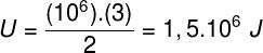 Cálculo da energia interna do gás – exercício 2