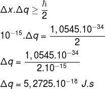 Cálculo do exemplo
