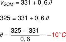 Cálculo da temperatura do ar – exercício 4