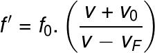Fórmula geral do efeito Doppler
