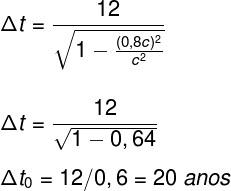 Paradoxo dos gêmeos – cálculo