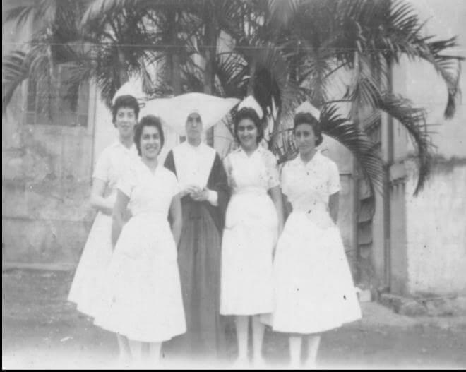 Alunas Escola Carlos Chagas 1956