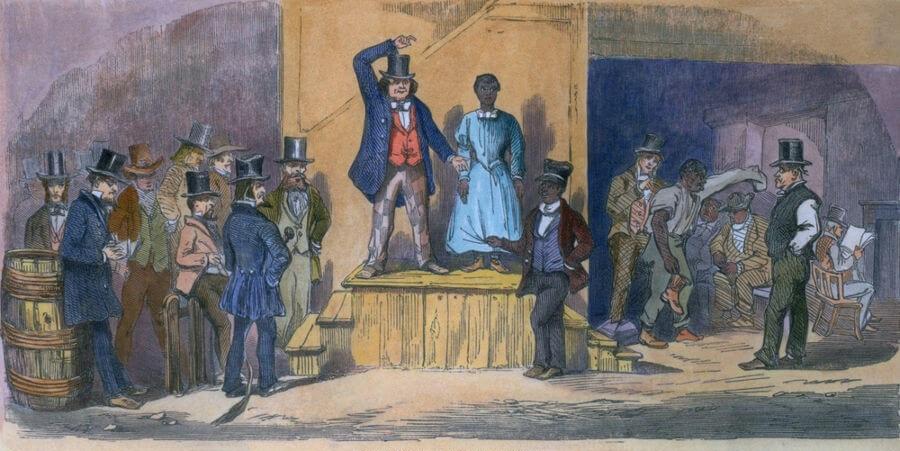 Os africanos eram vendidos e informações como idade, sexo e origem eram importantes na hora de vendê-los.