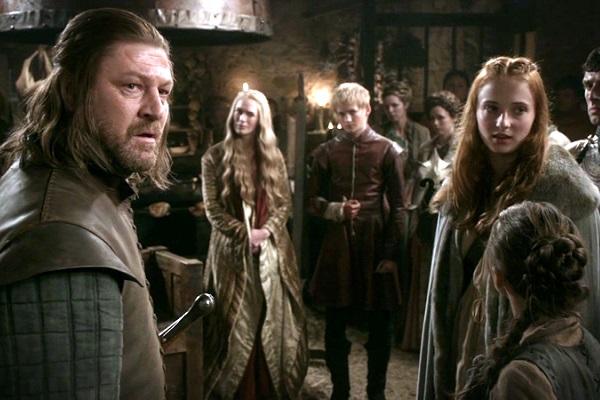 A rivalidade entre as casas Stark e Lannister é um dos pontos altos que movimentam a trama de Game of Thrones. (Crédito: Reprodução HBO)
