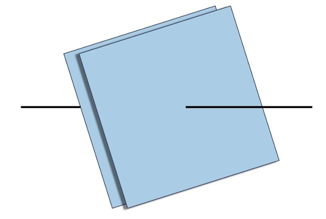 Na figura, temos um capacitor de placas paralelas condutoras.