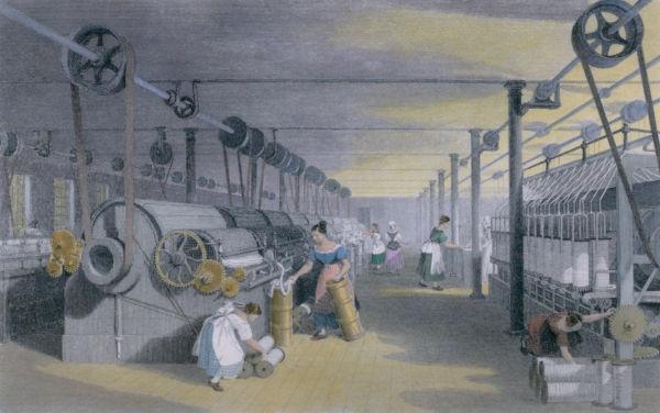 A introdução de processos automatizados e as correias transportadoras nas indústrias aumentaram significativamente a produção industrial.