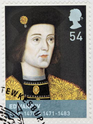 Eduardo IV, filho de Ricardo de York, tornou-se rei da Inglaterra após derrotar Henrique VI.*