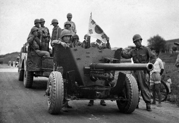 A Guerra da Coreia foi travada entre 1950 e 1953 e contou com o envolvimento de soldados americanos e soviéticos.