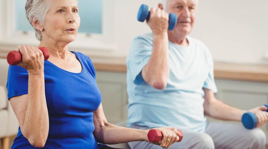 A prática de atividades físicas por idosos garante uma maior autonomia.