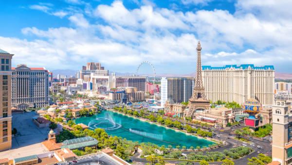 Las Vegas é a cidade do entretenimento.