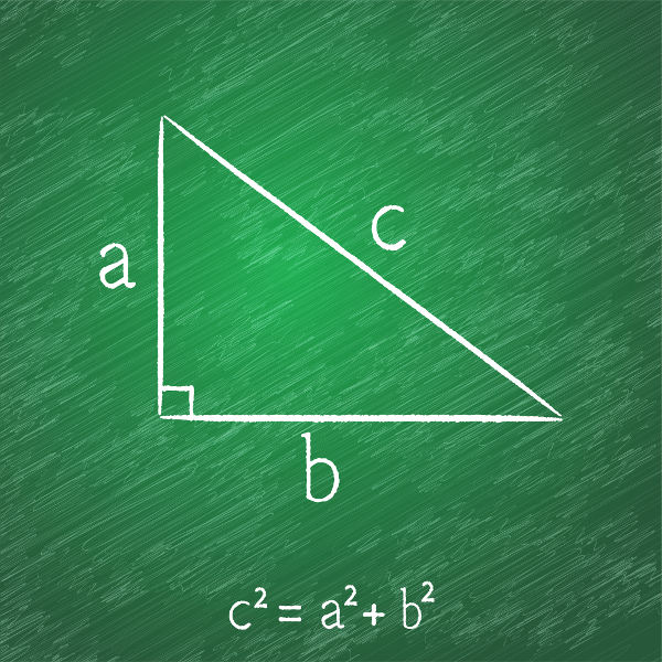 O teorema que relaciona o quadrado da hipotenusa e a soma dos quadrados dos catetos é uma das grandes contribuições de Pitágoras.