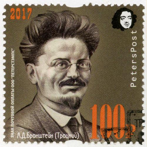 Leon Trotsky foi nomeado por Lenin para comandar o Exército Vermelho durante a Guerra Civil Russa.[2]