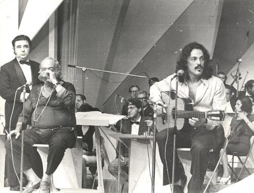 Vinicius de Moraes e Toquinho, em 1973 [3]