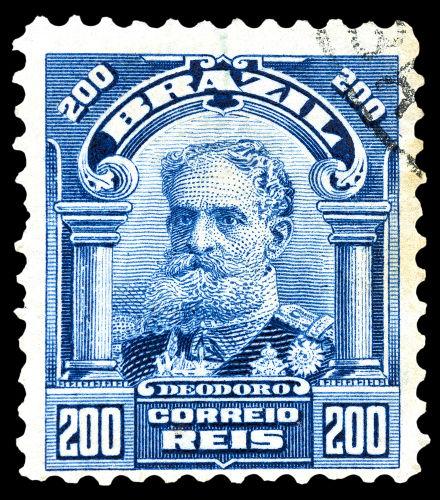 Após a Proclamação da República, o marechal Deodoro da Fonseca foi nomeado presidente provisório do Brasil.[1]