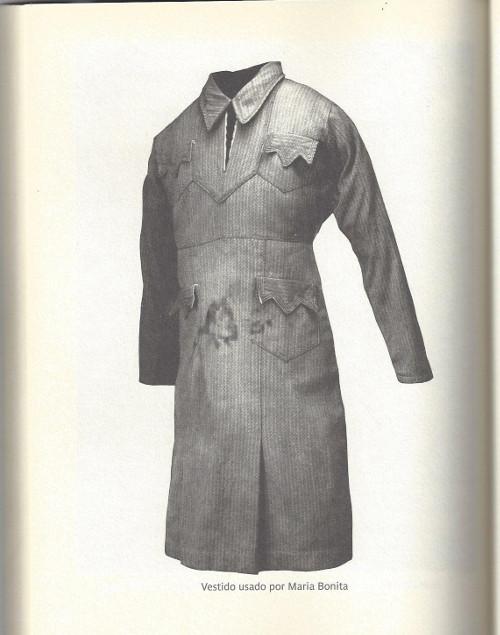 Vestido usado por Maria Bonita.