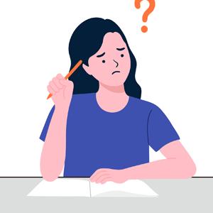 pessoa dificuldade escrever
