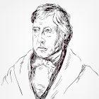 Ilustração do filósofo Friedrich Hegel