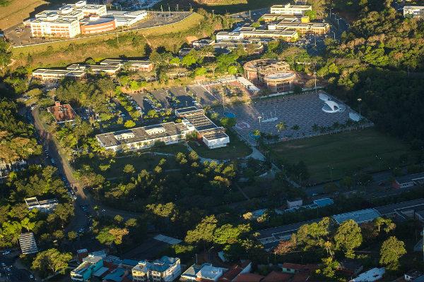 Campus da UFJF em Juiz de Fora