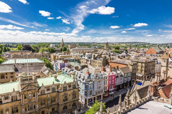 Universidade de Oxford, na Inglaterra.