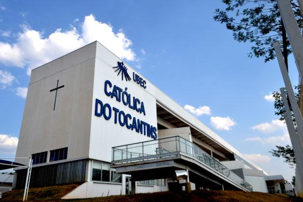Sede da UniCatólica (Crédito: Divulgação/UniCatólica)